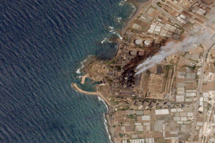 В Средиземном море между Кипром и Сирией обнаружили нефтяное пятно