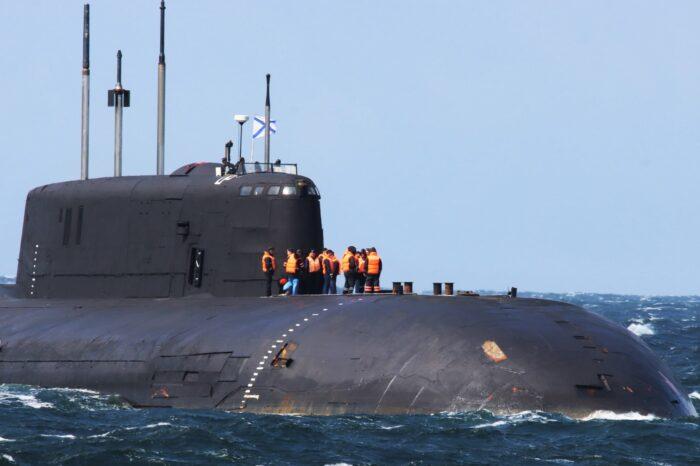 Российская атомная субмарина потеряла ход у берегов Дании