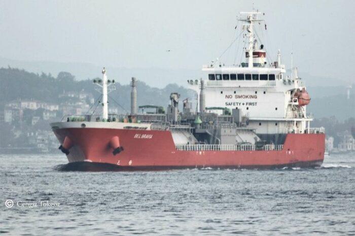 В порт Одессы зашел первый в августе LPG-танкер