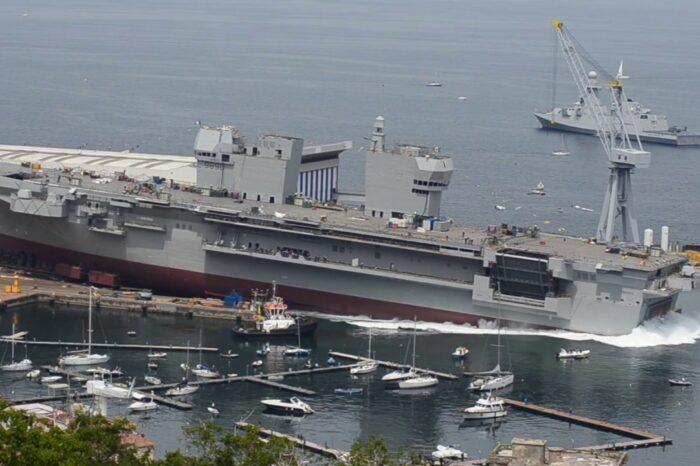 В Италии прошли испытания нового военного корабля
