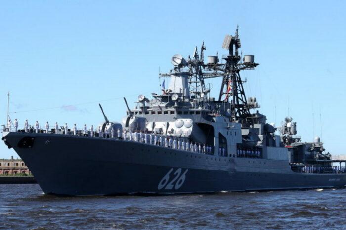 Испания не пустила военные корабли РФ в свой порт