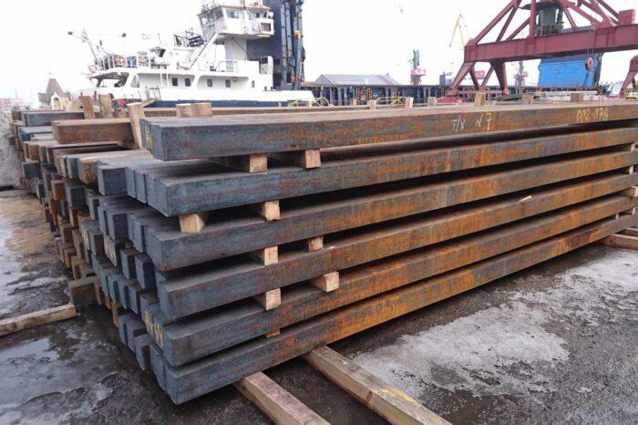 В портах Черного моря стабилизировались цены на стальную заготовку