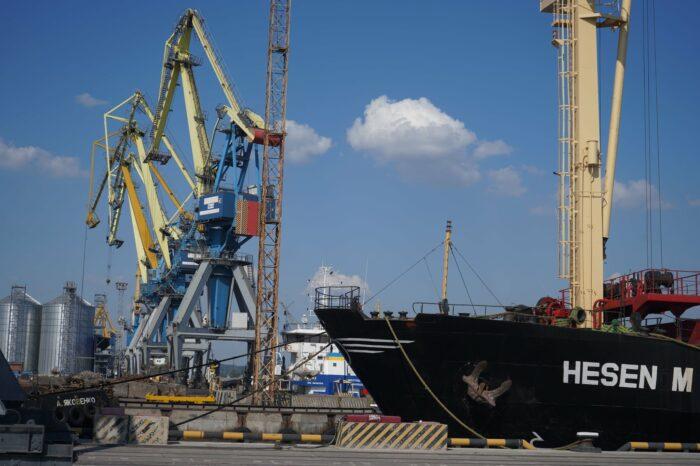 В Мариупольском порту отремонтируют контейнерный перегружатель за 6,9 млн грн