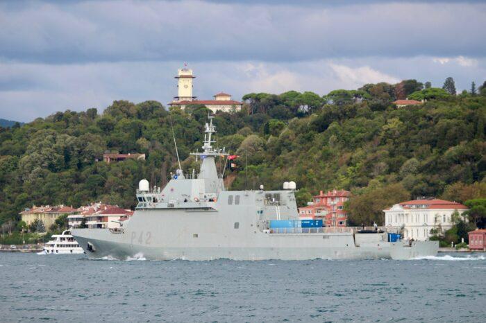 Корабли НАТО вошли в Черное море с дружественным визитом