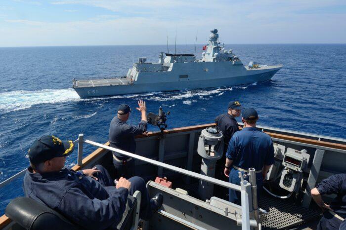 Украинские ВМС набирают экипаж на первый корвет типа Ada