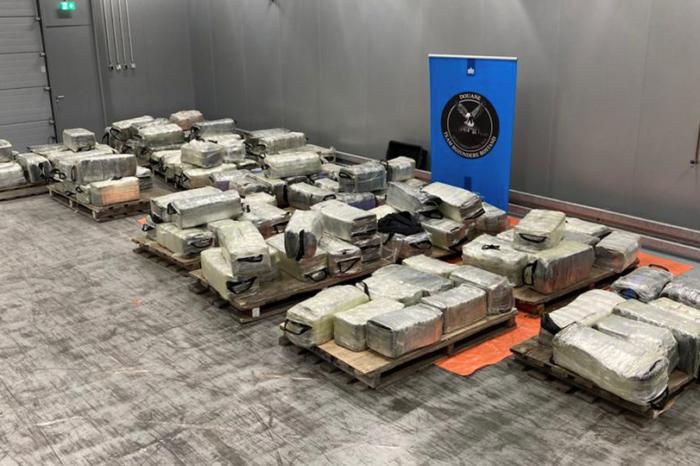 В порту Роттердама нашли более 4 тонн кокаина