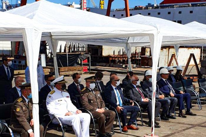 В Турции заложили киль будущего украинского корабля ADA