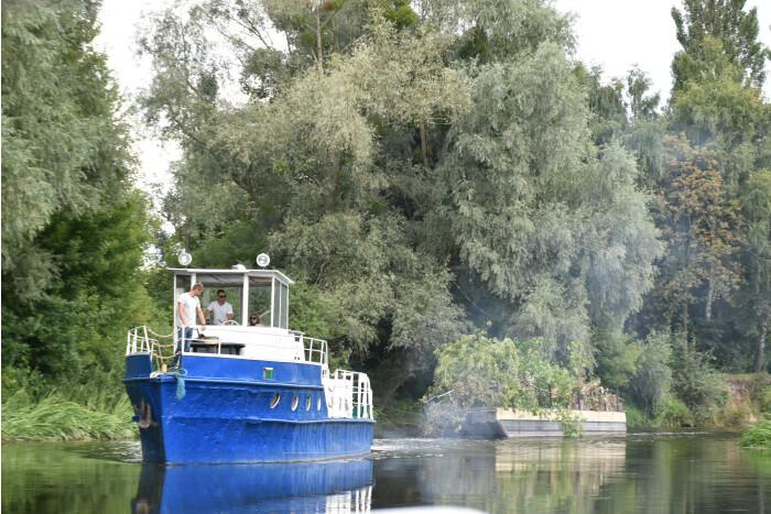 На реке Стыр планируют запустить грузовые перевозки