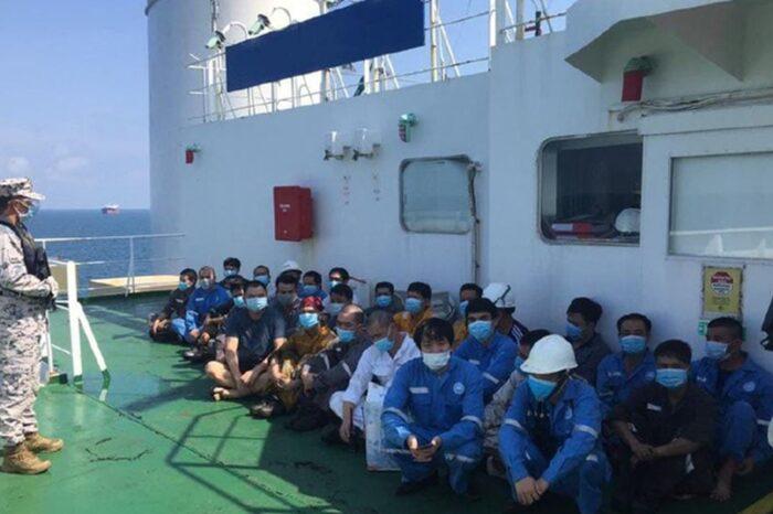 Малайзия арестовала два судна за 12-мильной зоной