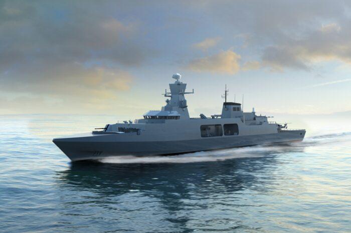 В Британии приступили к строительству головного фрегата