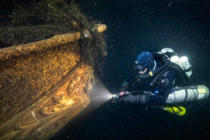 Польские дайверы начали экспедицию в Балтийском море