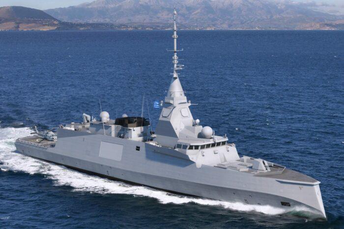 Во Франции построят три фрегата для ВМС Греции