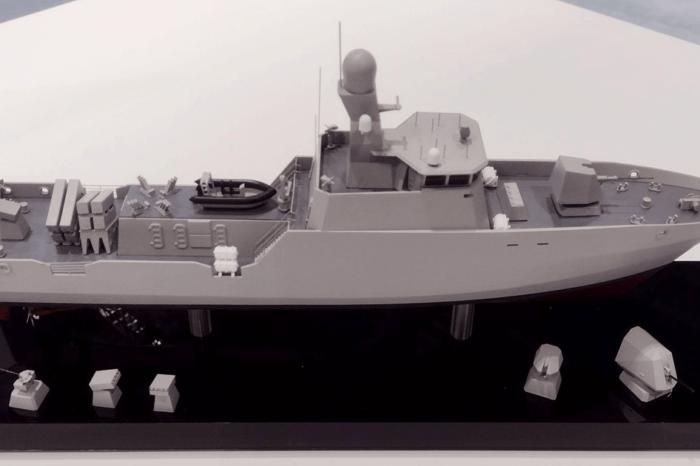 В Великобритании показали модель ракетного катера, который может стать украинским (ФОТО)