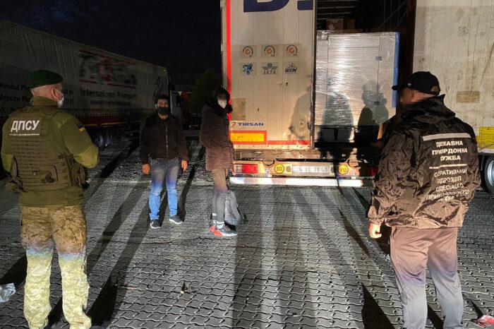 В порту Черноморска обнаружили нелегалов (ВИДЕО)