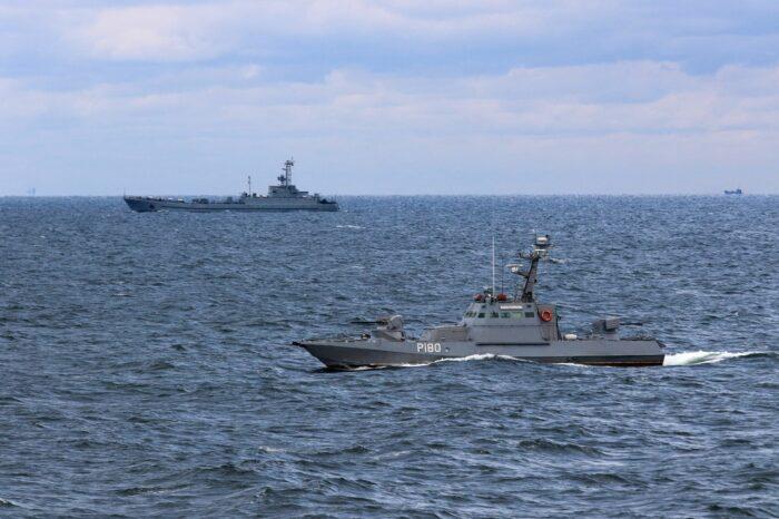 Фото дня: в Черном море прошли учения «Объединенные усилия - 2021»