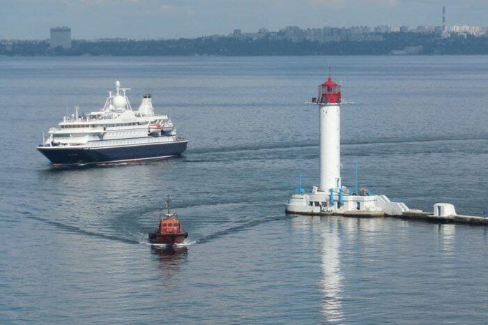 Одесский порт принял первый круиз с начала пандемии (ВИДЕО)