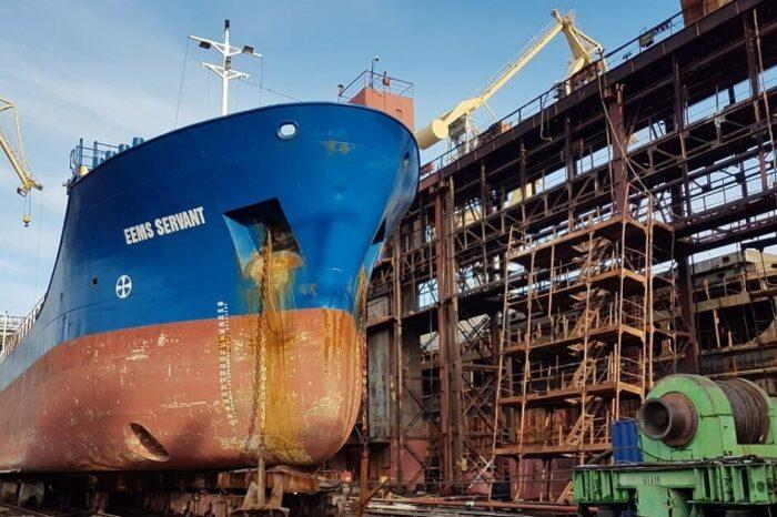 Верфь SMG завершила модернизацию 6 нидерландских судов