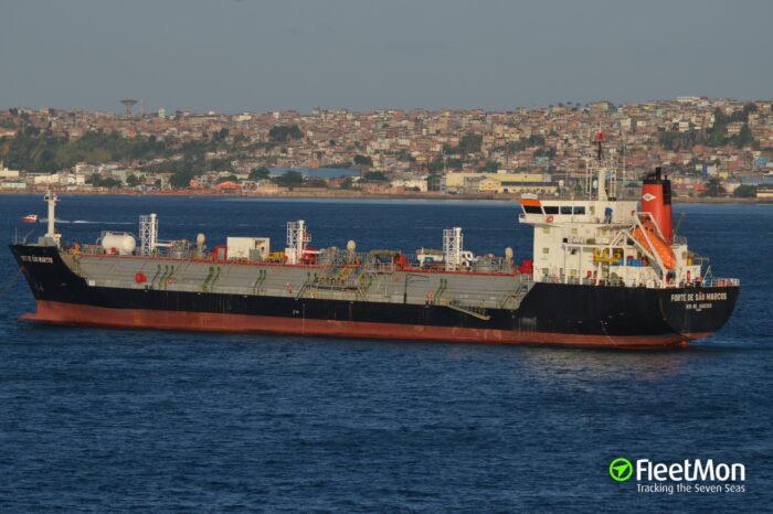 У берегов Бразилии взорвался танкер