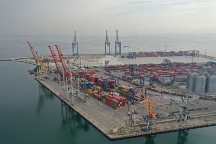 В Одесском порту КТО эксплуатирует новый фронт обработки вагонов