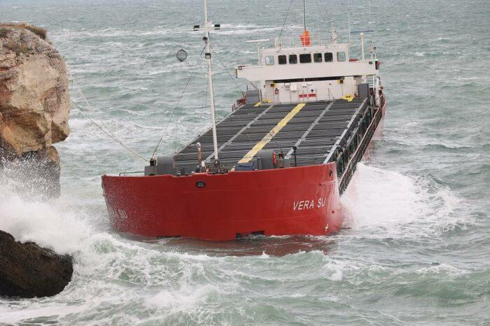 Затонул сухогруз Vera Su с грузом токсичных удобрений ОПЗ