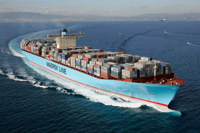 Maersk испытает технологию воздушной смазки на своих судах