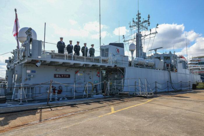 Британцы начали готовить украинских моряков к работе с кораблями класса Sandown