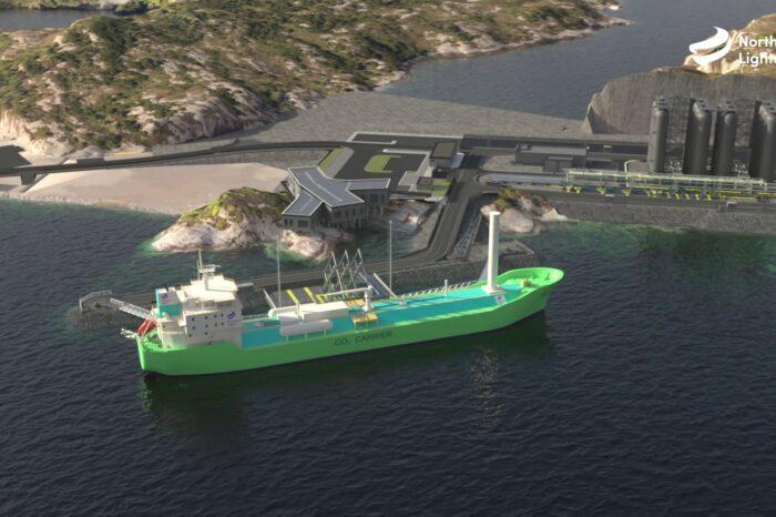 Норвегия построит суда для перевозки уловленного CO2