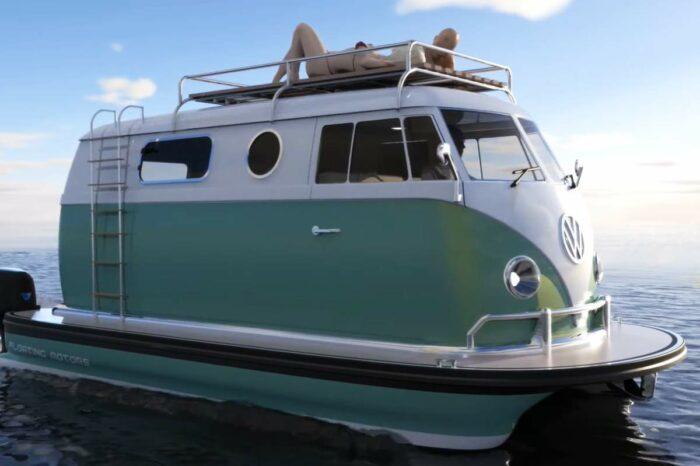 Культовые машины на воде: новая концепция от компании Floating Motors