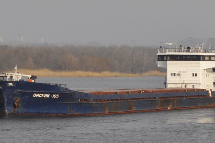 В Измаиле ремонтируют российское судно