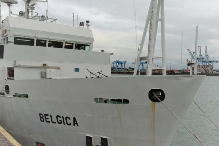 Бельгийское исследовательское судно отправилось в Украину