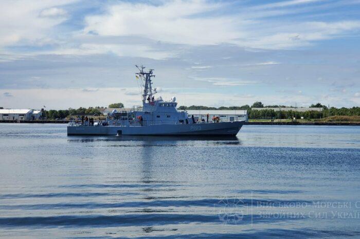 Украинские моряки в США начали практику на катере типа Island
