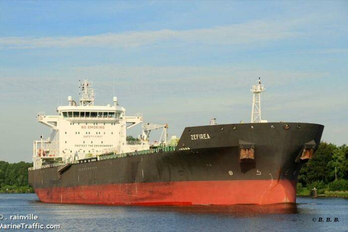 В Николаев прибыл второй за месяц танкер с итальянским дизтопливом